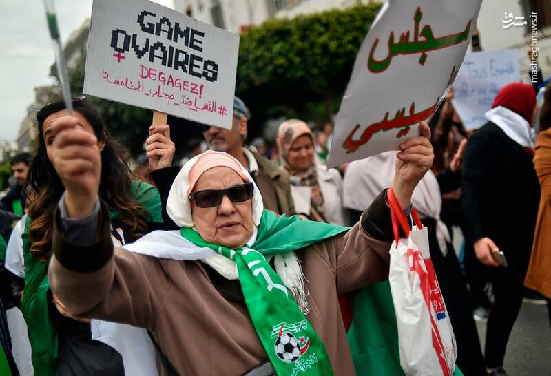 عکس/ ادامه ناآرامیها در خیابانهای الجزایر - 8
