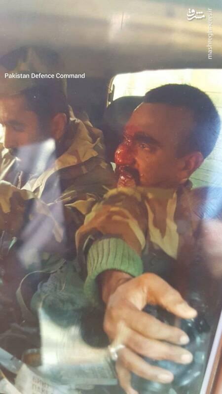 عکس/ خلبان اسیرشده هندی در پاکستان - 2