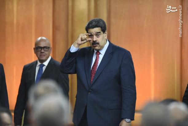 عکس/ کنفرانس خبری رئیس جمهور ونزوئلا - 13