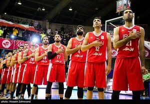 سید ایران در مسابقات جام جهانی بسکتبال