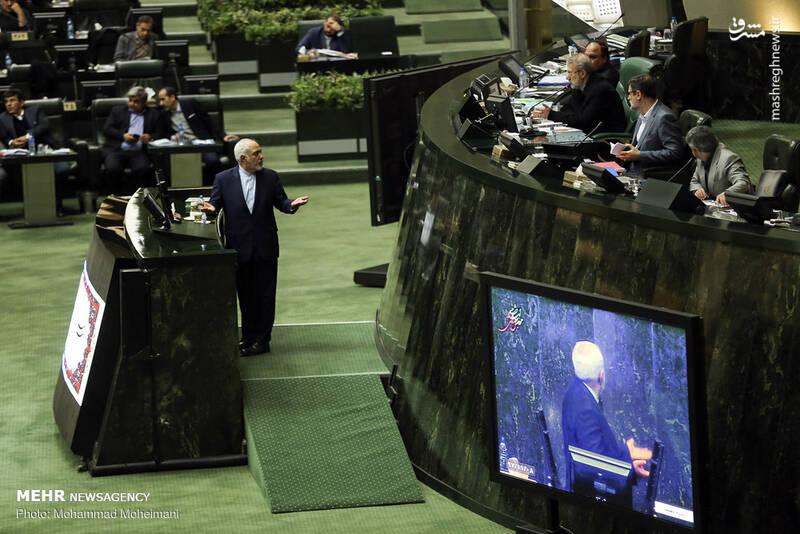 عکس/ حضور ظریف در صحن علنی مجلس - 5