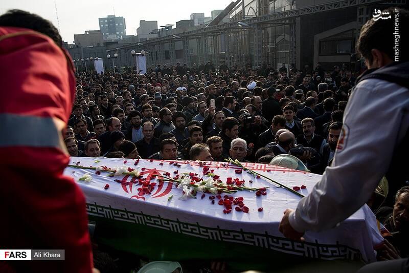 عکس/ تشییع پیکر آتشنشان شهید - 23