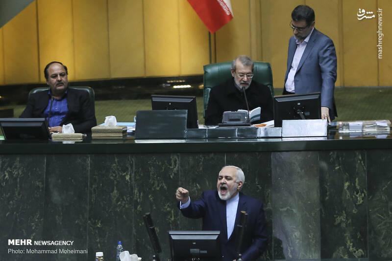 عکس/ حضور ظریف در صحن علنی مجلس - 10