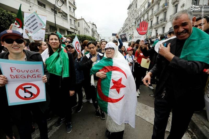 عکس/ ادامه ناآرامیها در خیابانهای الجزایر - 4