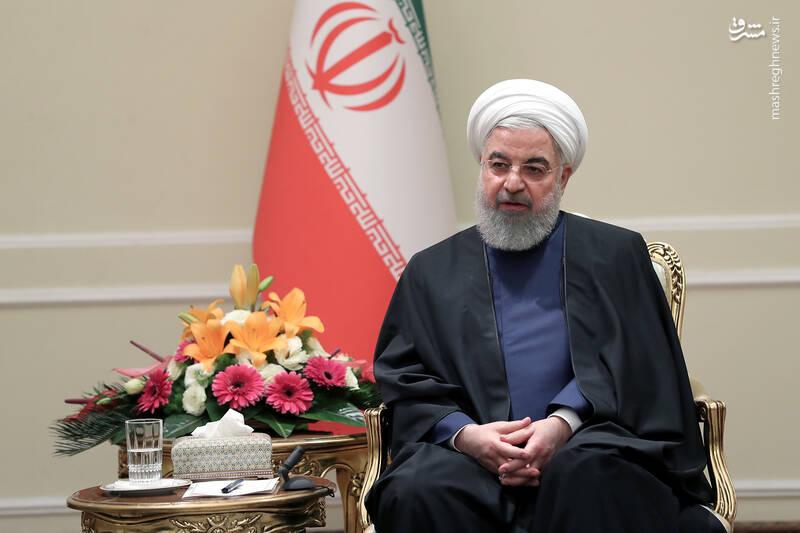 عکس/ دیدار نوروزی جمعی از وزرا با روحانی - 5