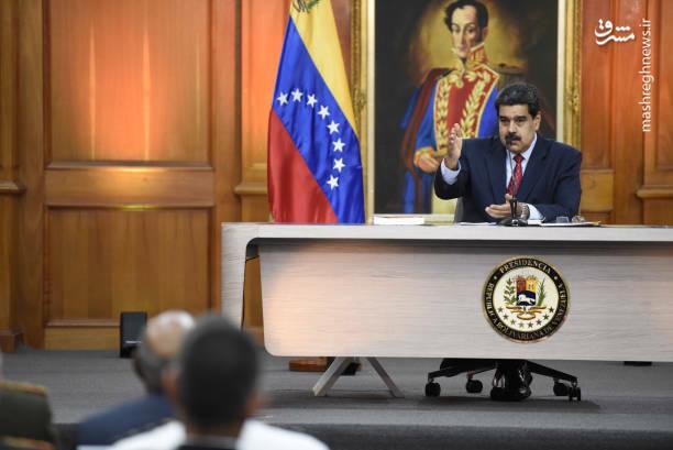 عکس/ کنفرانس خبری رئیس جمهور ونزوئلا - 9