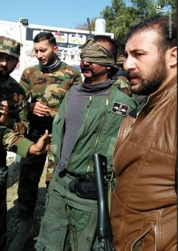 عکس/ خلبان اسیرشده هندی در پاکستان - 4