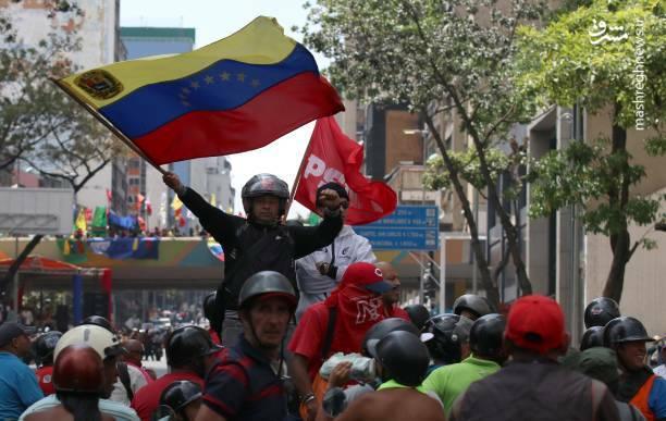 عکس/ تظاهرات حامیان نیکلاس مادورو در ونزوئلا - 9
