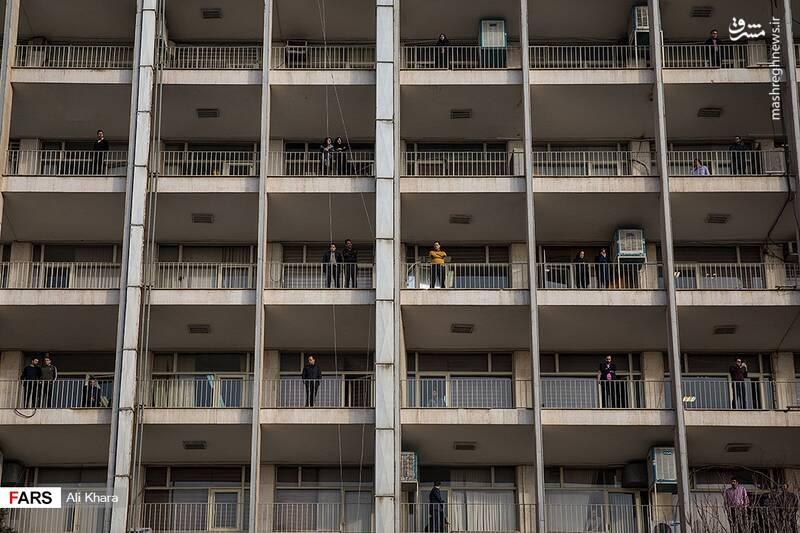 عکس/ تشییع پیکر آتشنشان شهید - 19
