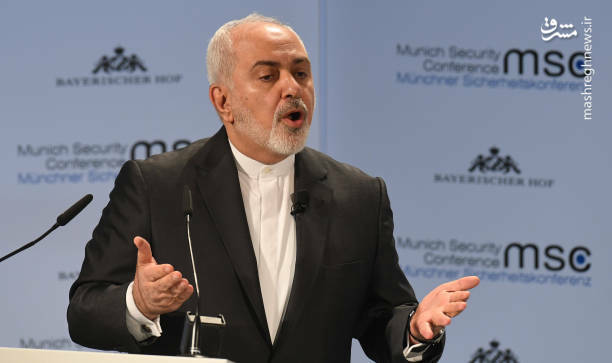 عکس/ سخنرانی ظریف در کنفرانس امنیتی مونیخ - 12