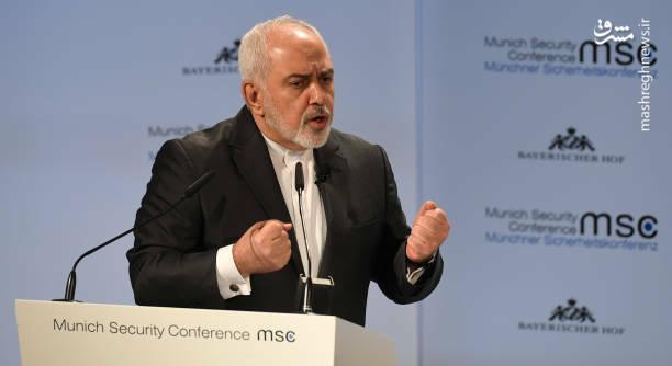 عکس/ سخنرانی ظریف در کنفرانس امنیتی مونیخ - 10