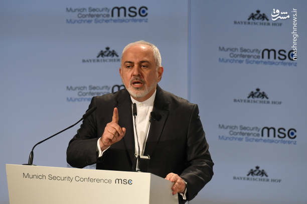 عکس/ سخنرانی ظریف در کنفرانس امنیتی مونیخ - 8