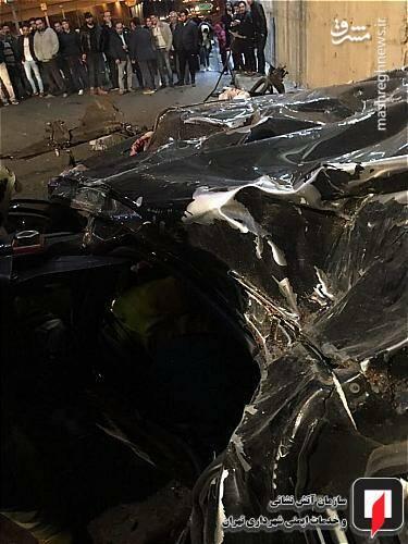 عکس/ تصادف مرگبار پژو ۲۰۷ در تهران - 7