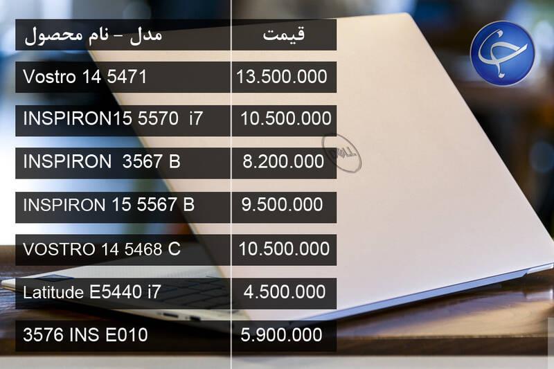 جدول/ آخرین قیمت انواع لپتاپ در بازار - 14