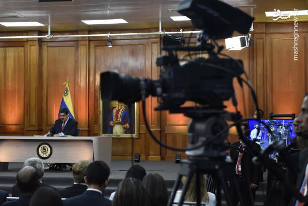 عکس/ کنفرانس خبری رئیس جمهور ونزوئلا - 10