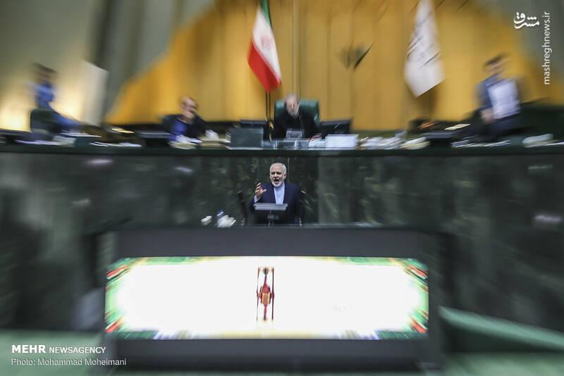 عکس/ حضور ظریف در صحن علنی مجلس - 8