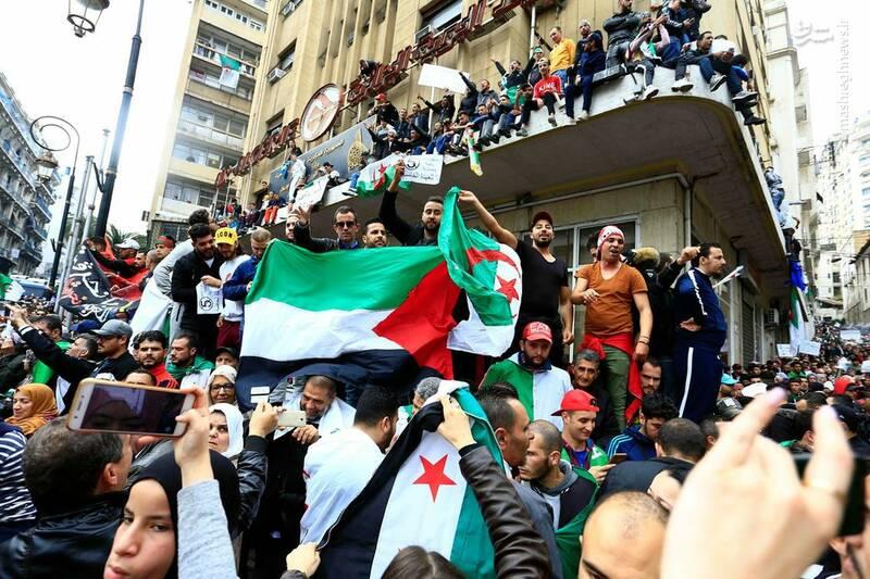 عکس/ ادامه ناآرامیها در خیابانهای الجزایر - 12