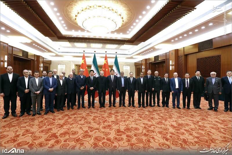 عکس/ دیدار لاریجانی با رئیس کنگره خلق چین - 9