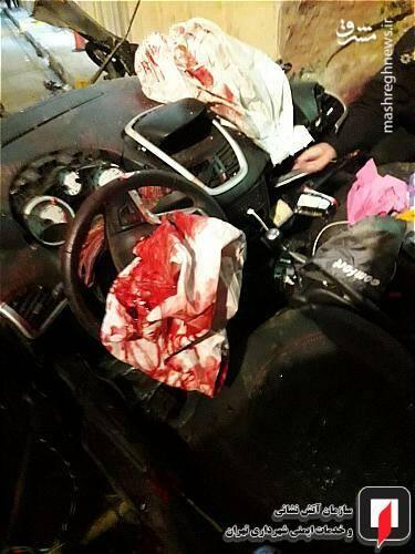 عکس/ تصادف مرگبار پژو ۲۰۷ در تهران - 0