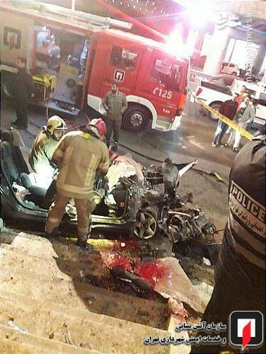 عکس/ تصادف مرگبار پژو ۲۰۷ در تهران - 4