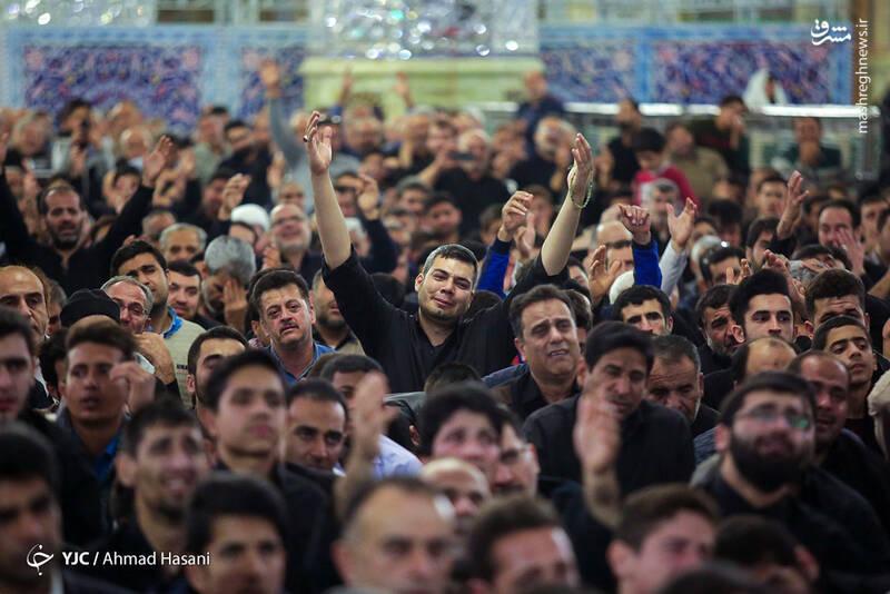 عکس/ شب شهادت حضرت زهرا (س) در حرم مطهر رضوی - 12