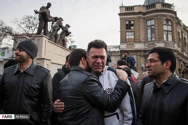 عکس/ تشییع پیکر آتشنشان شهید - 3