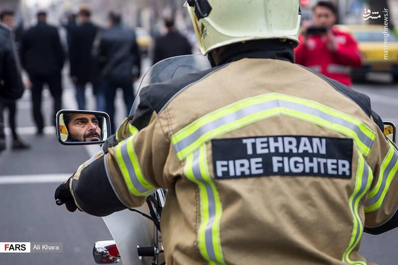عکس/ تشییع پیکر آتشنشان شهید - 14