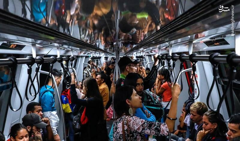 عکس/ آغاز به کار مترو در ونزوئلا - 2