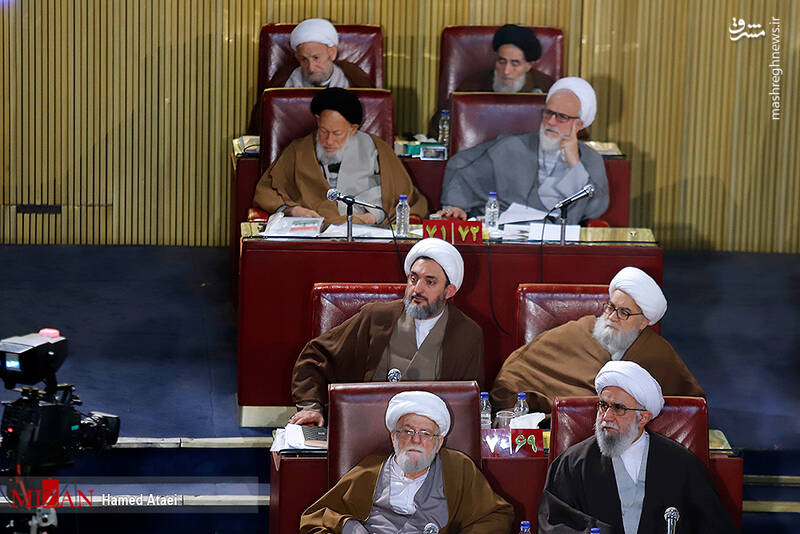 عکس/ اختتامیه ششمین اجلاسیه مجلس خبرگان - 13