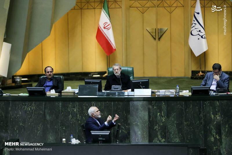 عکس/ حضور ظریف در صحن علنی مجلس - 11