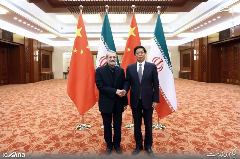 عکس/ دیدار لاریجانی با رئیس کنگره خلق چین - 10