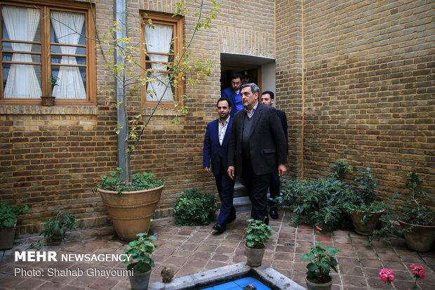 بازدید شهردار تهران از خانه موزه مدرس - 26