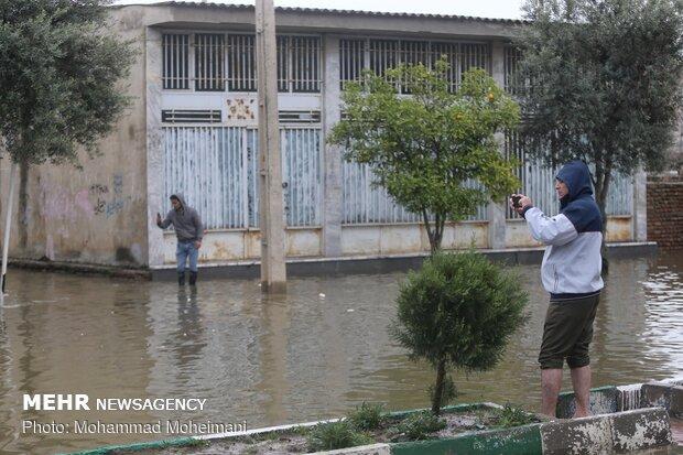 شدت گرفتن سیلاب در روستاهای استان گلستان - 51