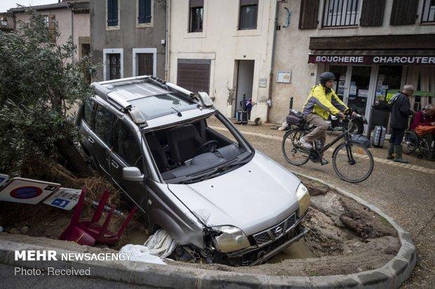 خسارات سیل در فرانسه - 6