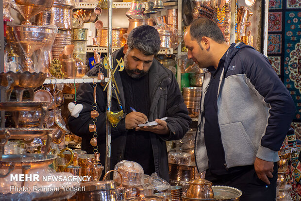 تب و تاب بازار اراک در آستانه نوروز - 29