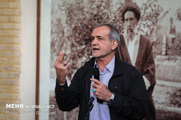 بازدید شهردار تهران از خانه موزه مدرس - 12