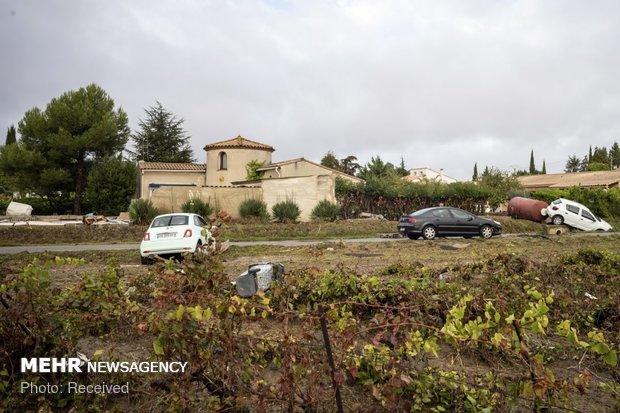 خسارات سیل در فرانسه - 30
