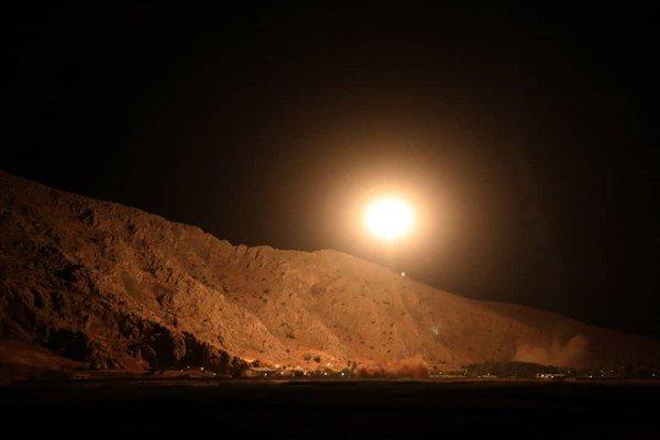 نخستین تصاویر حمله موشکی سپاه به مقر تروریست ها - 3