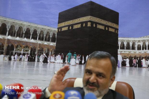 تصاویر نشست خبری رئیس سازمان حج و زیارت - 14