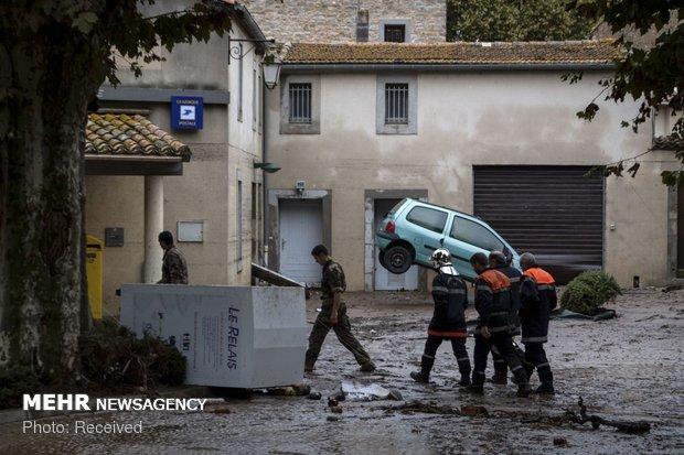 خسارات سیل در فرانسه - 4