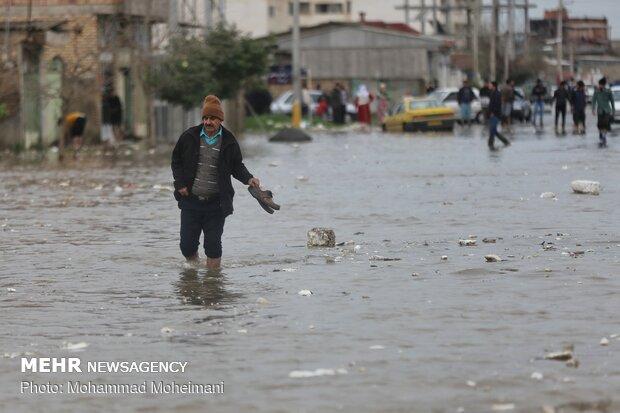 شدت گرفتن سیلاب در روستاهای استان گلستان - 43