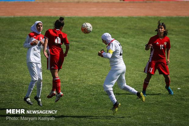 دیدار فوتبال دختران ایران و اردن - 52