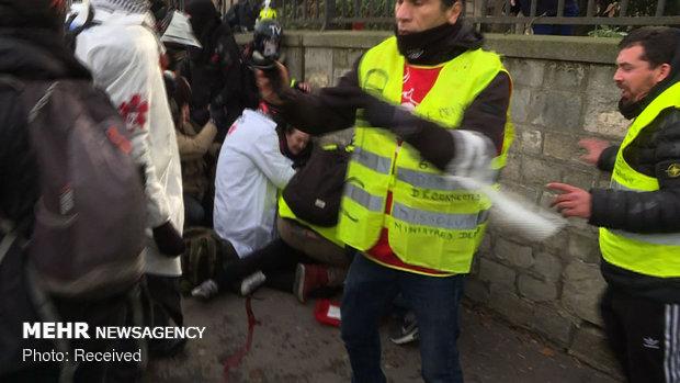 سیزدهمین شنبه اعتراضات در فرانسه - 1