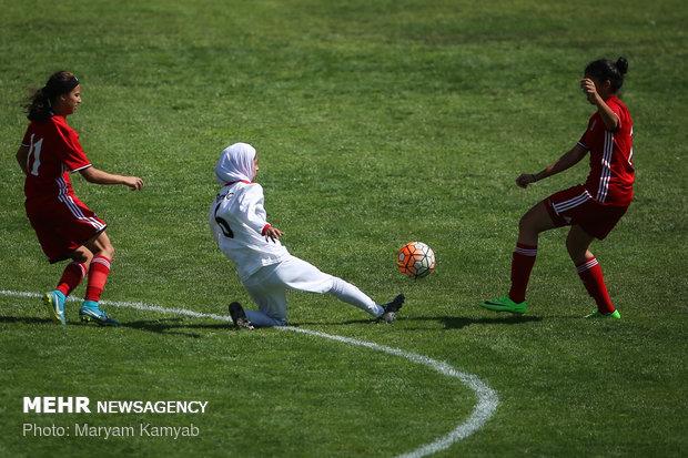 دیدار فوتبال دختران ایران و اردن - 40