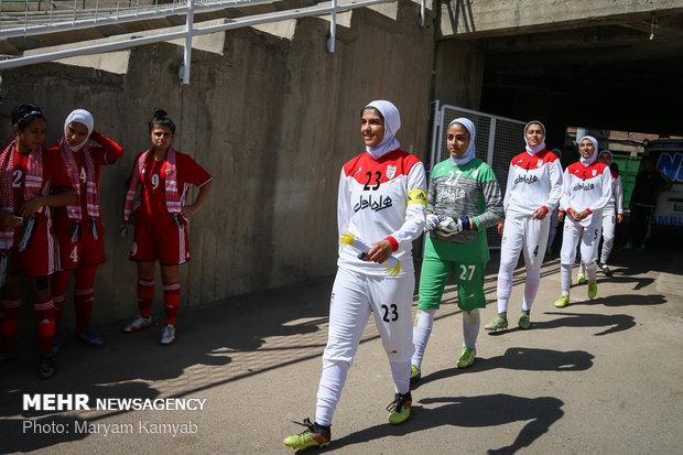 دیدار فوتبال دختران ایران و اردن - 4