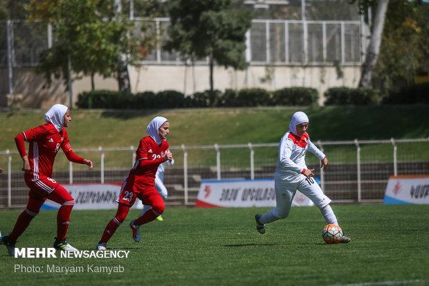 دیدار فوتبال دختران ایران و اردن - 24