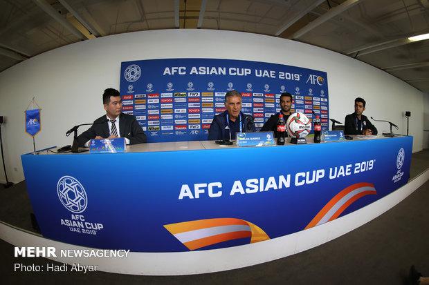 نشست خبری سرمربی تیم ملی فوتبال پیش از دیدار با ژاپن - 10