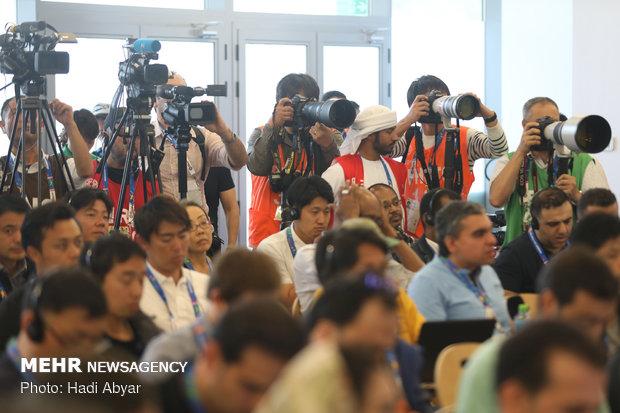 نشست خبری سرمربی تیم ملی فوتبال پیش از دیدار با ژاپن - 25