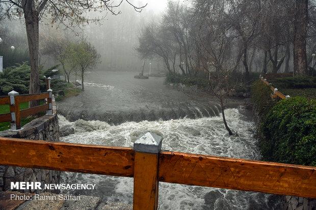 طغیان مسیل اصلی شهر مشهد - 49