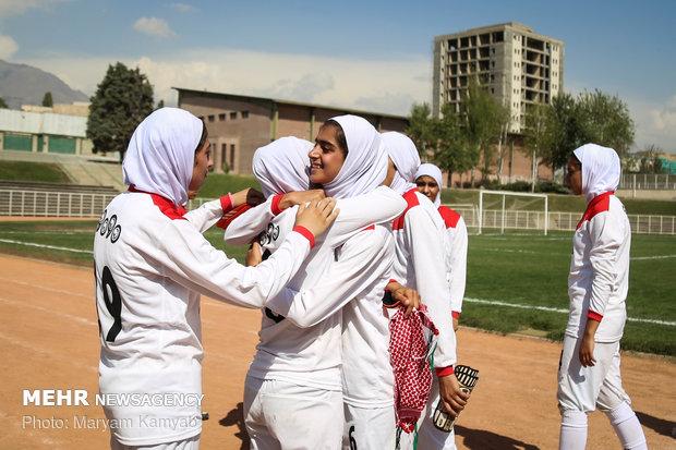 دیدار فوتبال دختران ایران و اردن - 66